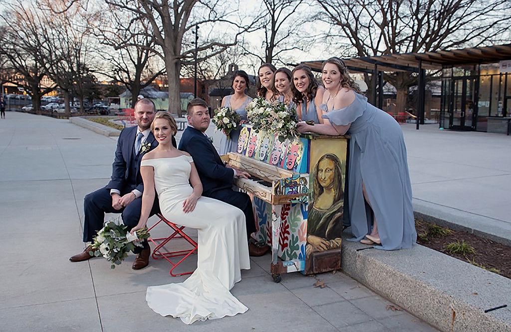 Dan & Kellie's Spirited Vintage Wedding